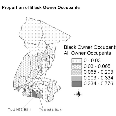 Proportion of Black Owner Occupants